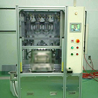 Electrolytic solution injection machine